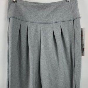 Lucy Size M Reg Power Pant Sleet Grey Heather NWT